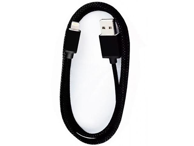 Аксессуар SmartBuy USB - Lightning 1.2m Black iK-512met
