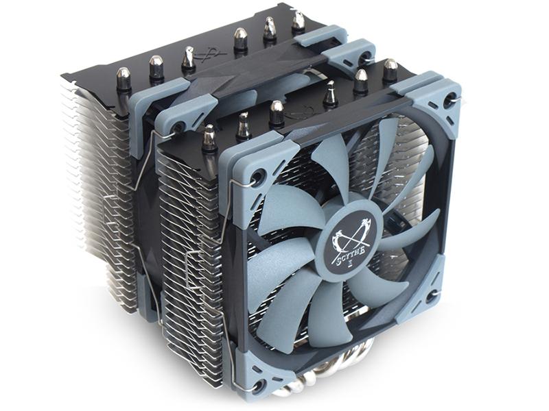 Кулер Scythe Fuma 2 SCFM-2000 (Intel LGA2066/2011v3/1366/1156/1155/1151/1150/775/ AMD AM4/AM3+/AM3/AM2+/AM2/FM2/FM1)