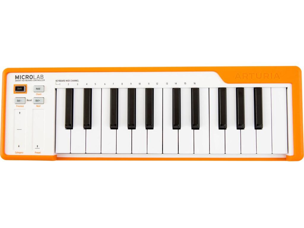 MIDI-клавиатура Arturia Microlab Orange