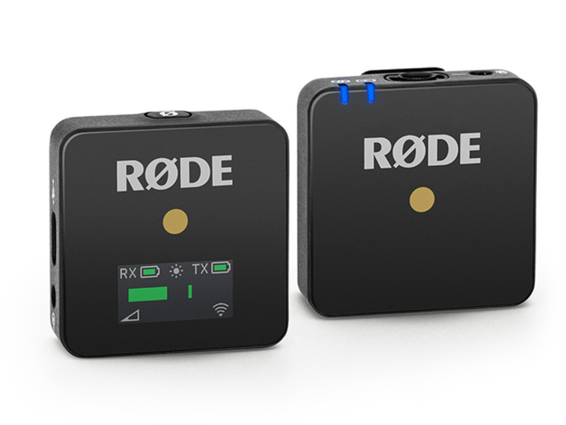 Фото - Микрофон Rode Wireless GO letting go