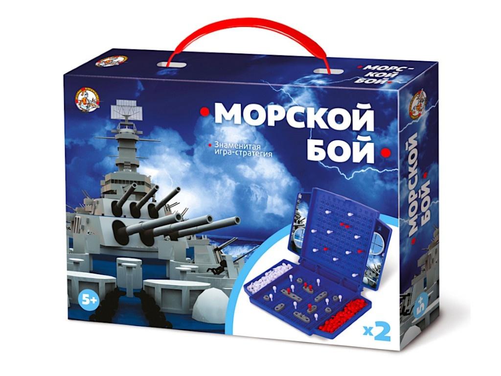 Настольная игра Десятое Королевство Морской бой мини 02152