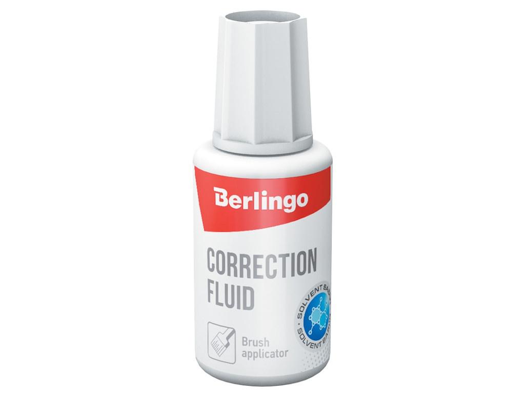 Корректирующая жидкость Berlingo 20ml KR530