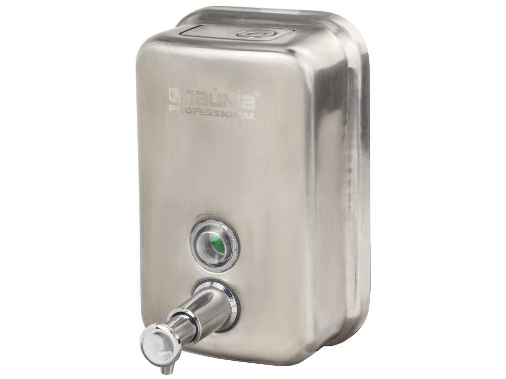 Дозатор для жидкого мыла Лайма Professional 500ml Steel Matte 605396