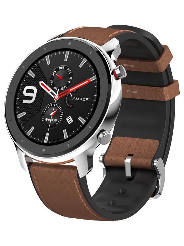 Умные часы Xiaomi Amazfit GTR 47mm Stainless Steel Выгодный набор + серт. 200Р!!!