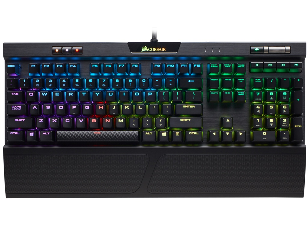 Клавиатура Corsair Gaming K70 RGB MK.2 Cherry MX Blue CH-9109011-RU