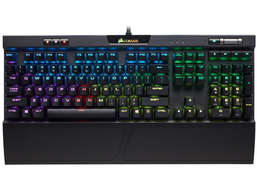 Клавиатура Corsair Gaming K70 RGB MK.2 Cherry MX Silent (Russian) CH-9109013-RU