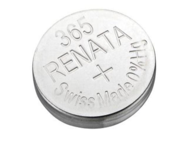 Батарейка R365 - Renata SR1116W (1 штука)