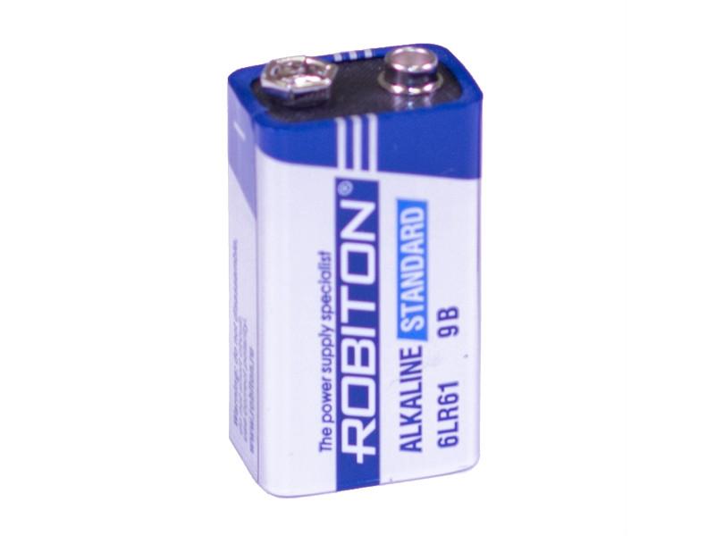 Батарейка КРОНА Robiton Standart 6LR61 9V (1 штука)