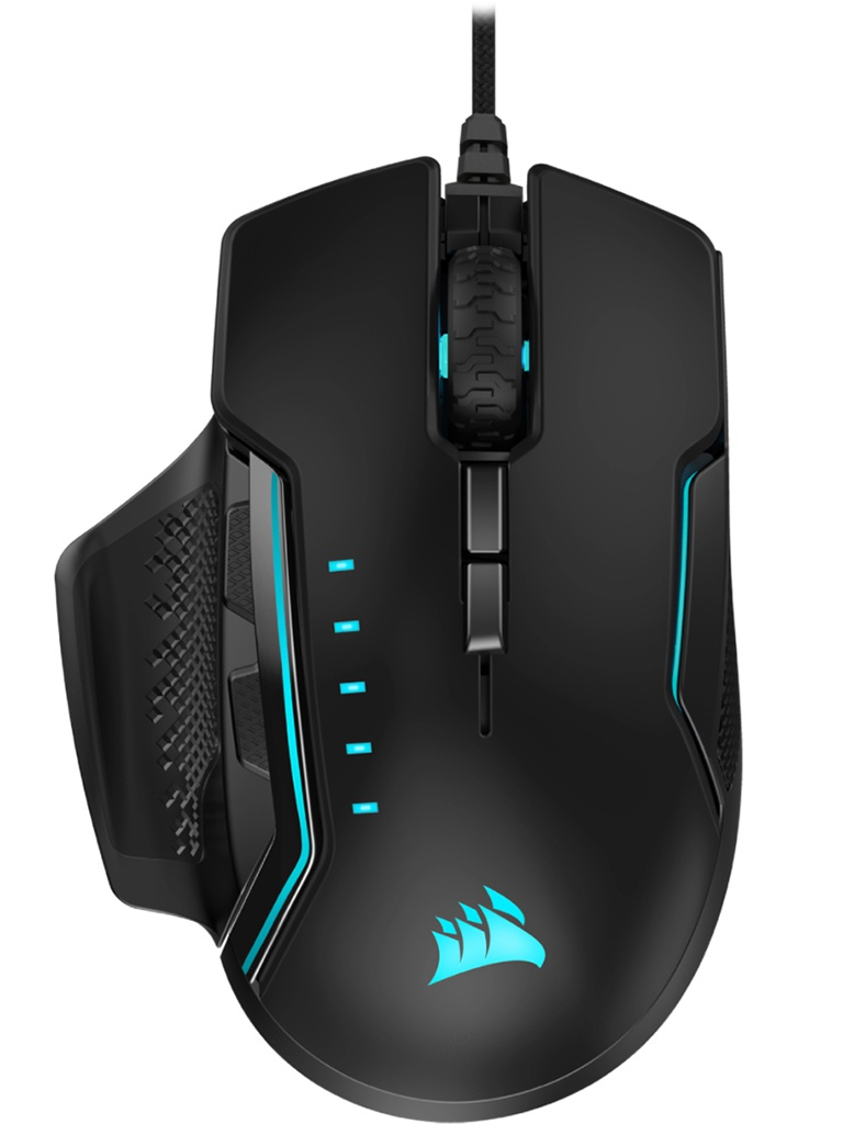 Мышь Corsair Gaming Glaive RGB PRO Black LED CH-9302211-EU