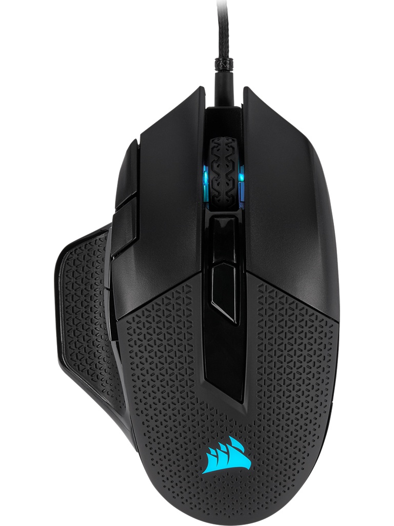 Мышь Corsair Gaming NightsWord RGB Black LED CH-9306011-EU