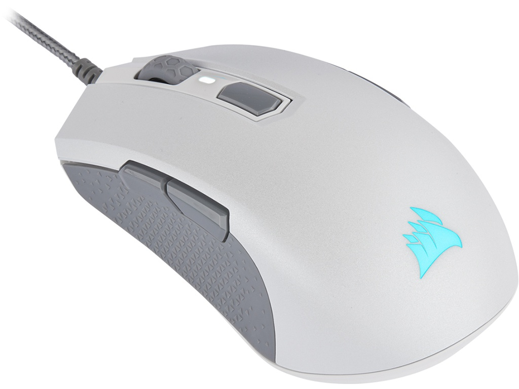 Мышь Corsair Gaming M55 RGB PRO Ambidextrous White LED Optical CH-9308111-EU