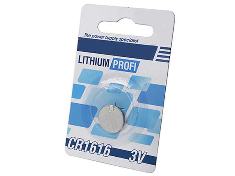 Батарейка CR1616 - Robiton Profi R-CR1616-BL1 13057 (1 штука)