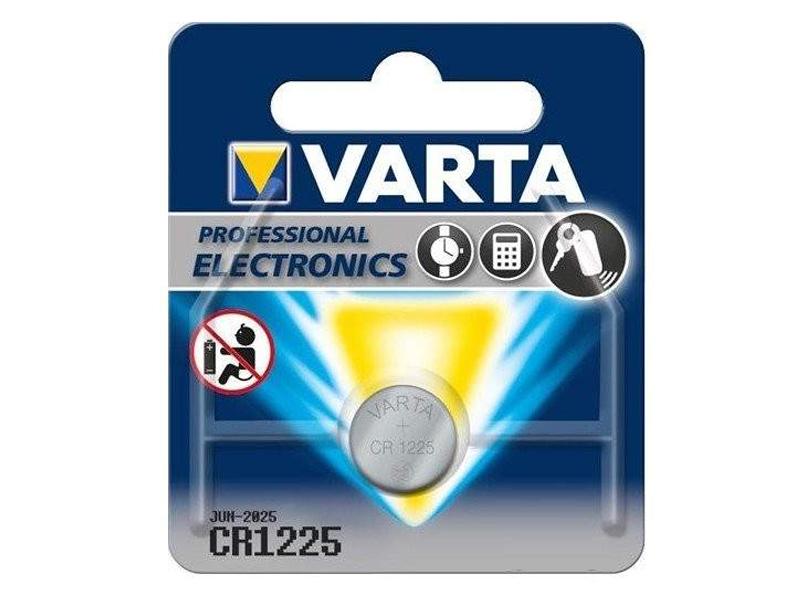 Батарейка CR1225 - Varta 1BL батарейка трофи 6lr61 1bl 1 шт