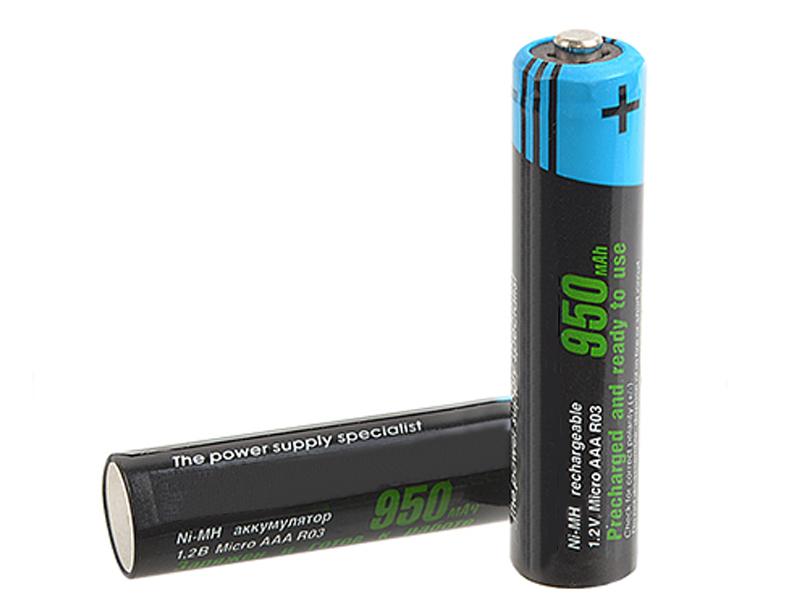 Аккумулятор AAA - Robiton RTU950MHAAA-2 BL2 9792 (2 штуки)
