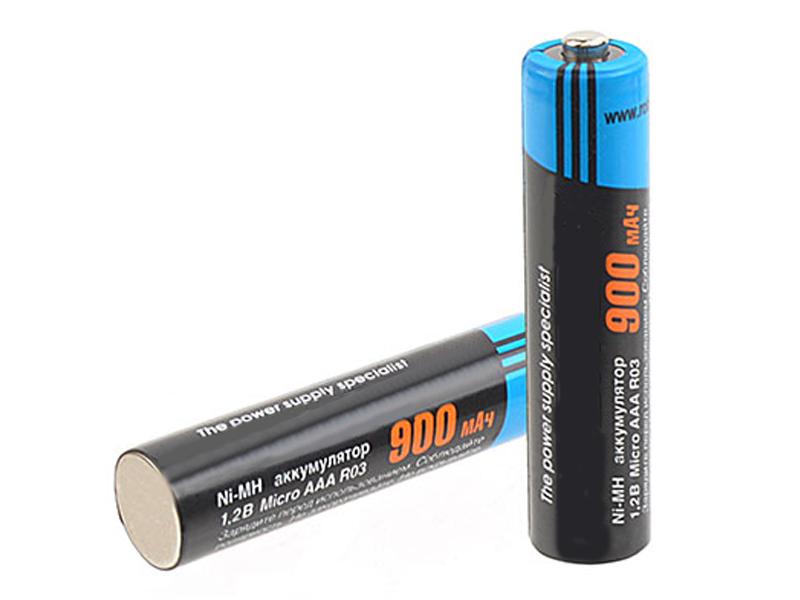 Аккумулятор AAA - Robiton 900MHAAA-2 BL2 8796 (2 штуки)