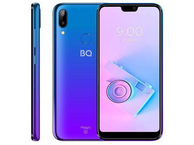 цена Сотовый телефон BQ 5731L Magic S Ultra Violet