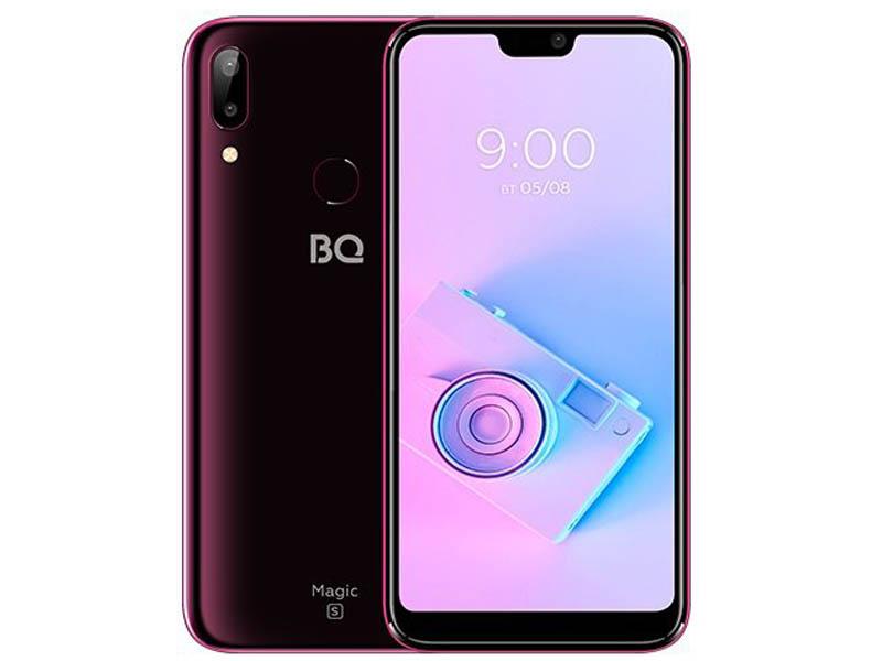 Сотовый телефон BQ 5731L Magic S Wine Red