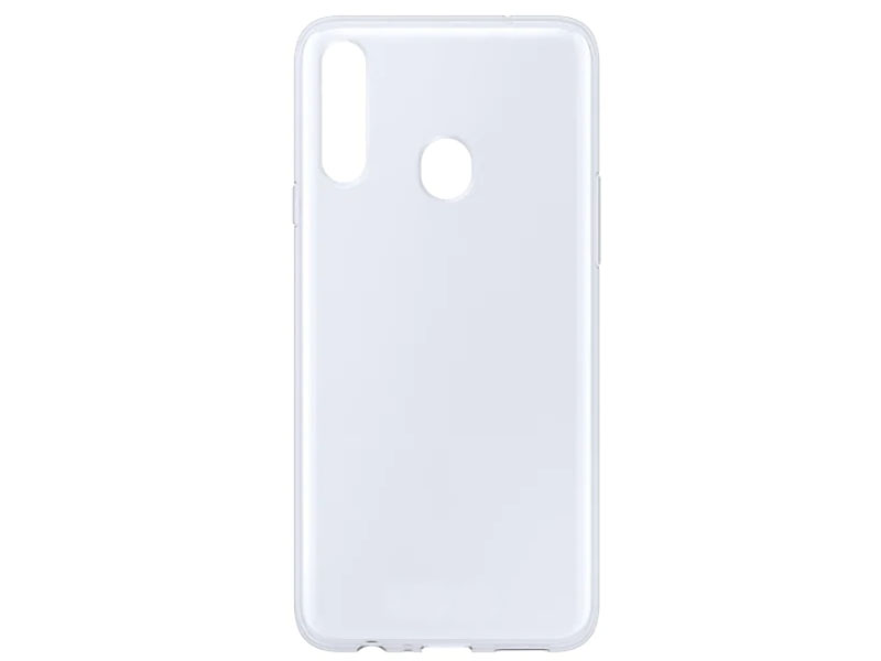Аксессуар Чехол для Samsung Galaxy A20s Clear Cover Transparent EF-QA207TTEGRU цена и фото
