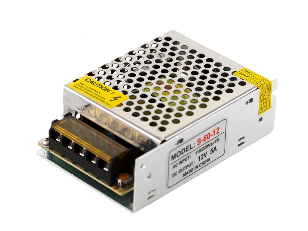 Блок питания URM S-60W-5A-IP22-12V C10261 цена 2017