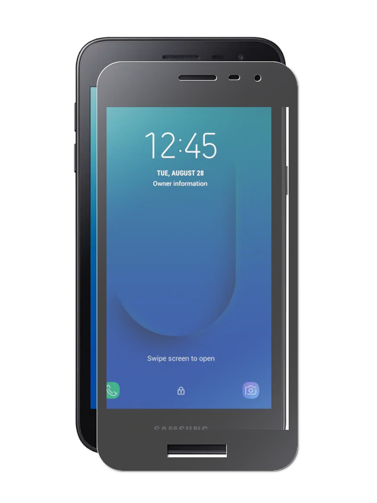 Защитное стекло Hardiz для Samsung Galaxy J2 Core Full Screen Cover Special Edition Black HRD200205