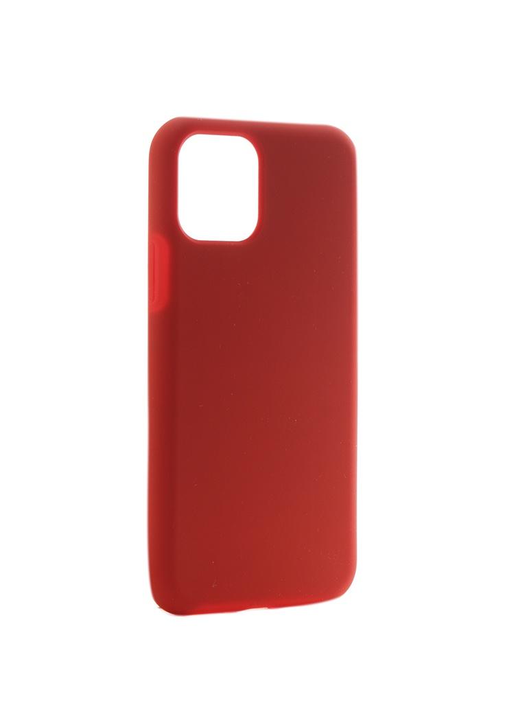 Чехол Hardiz для APPLE iPhone 11 Pro Liquid Silicone Case Red HRD822102