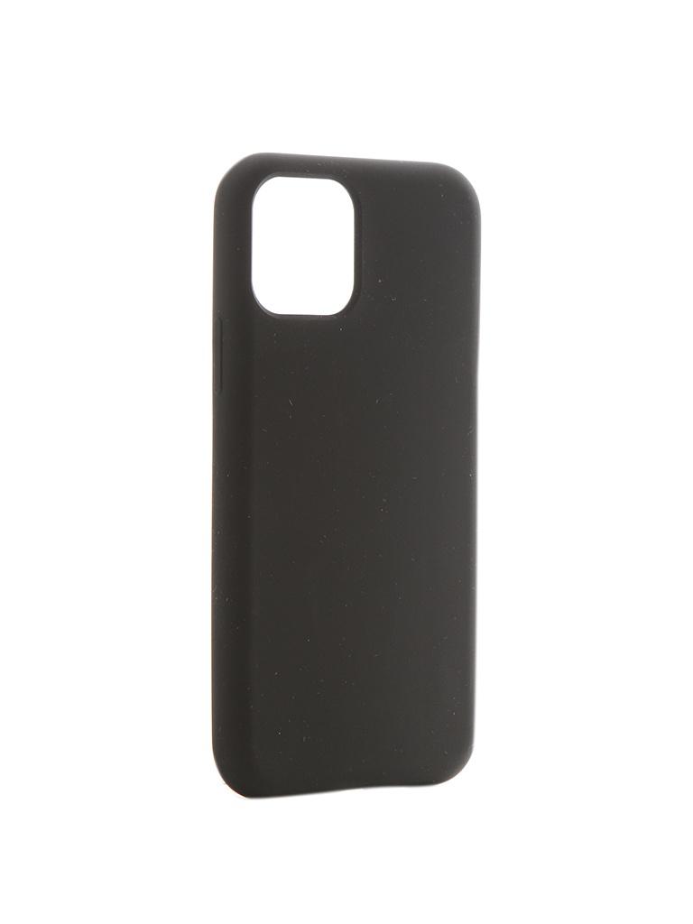 Чехол Hardiz для APPLE iPhone 11 Pro Liquid Silicone Case Black HRD822101