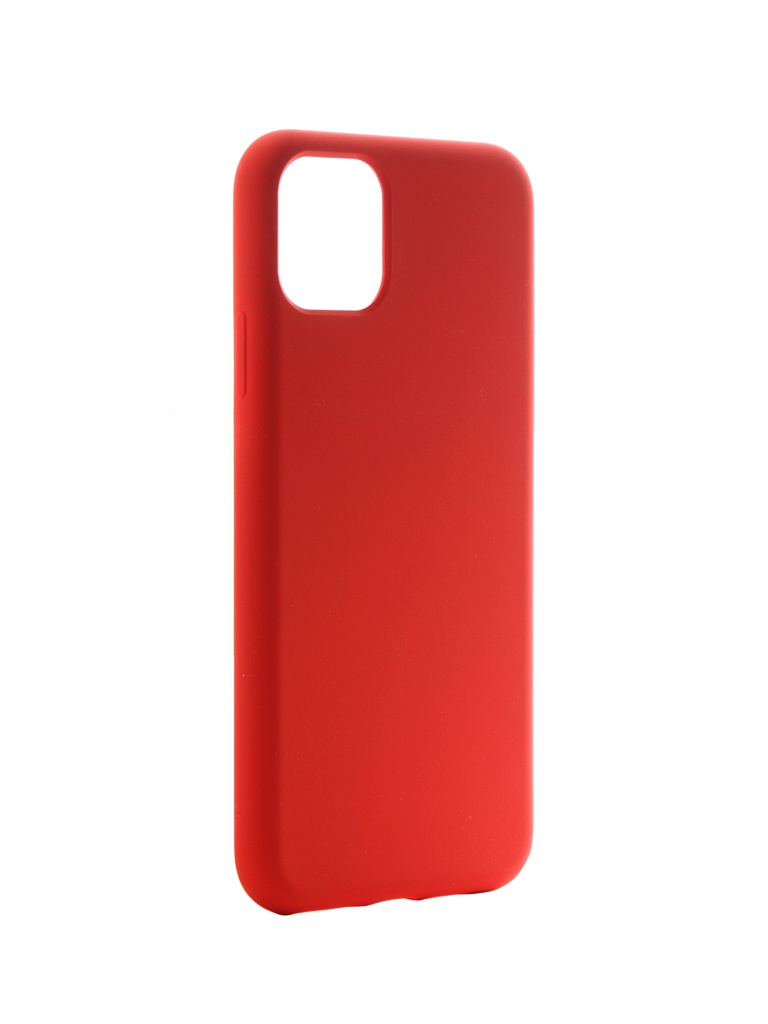 Чехол Hardiz для APPLE iPhone 11 Pro Max Liquid Silicone Case Red HRD822302