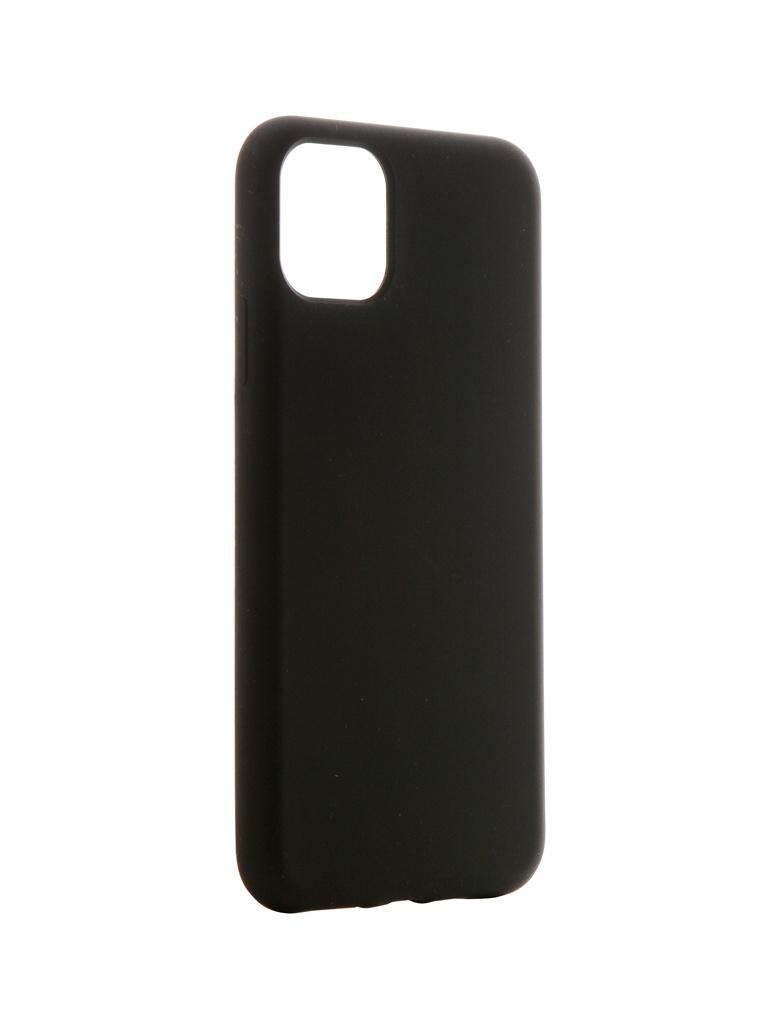 Чехол Hardiz для APPLE iPhone 11 Pro Max Liquid Silicone Case Black HRD822301