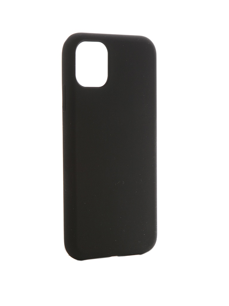 Аксессуар Чехол Hardiz для APPLE iPhone 11 Liquid Silicone Case Black HRD822201