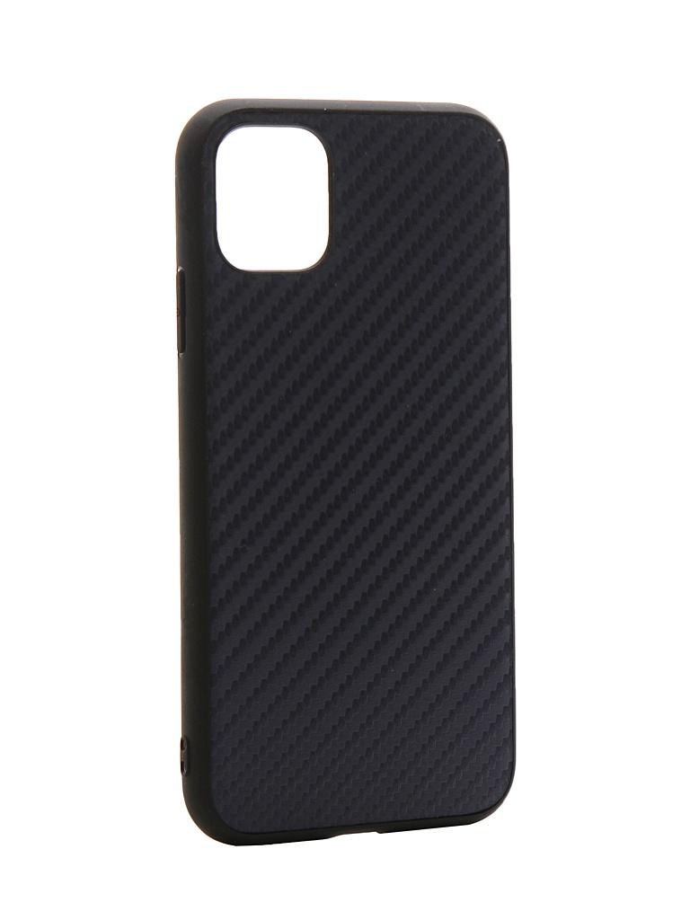 Чехол G-Case для APPLE iPhone 11 Carbon Dark Blue GG-1159