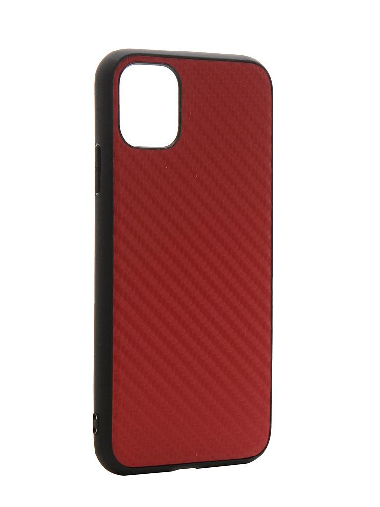 Чехол G-Case для APPLE iPhone 11 Carbon Red GG-1158