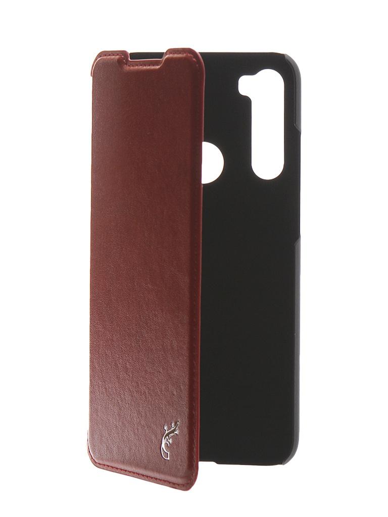 Чехол G-Case для Xiaomi Redmi Note 8 Slim Premium Red GG-1154