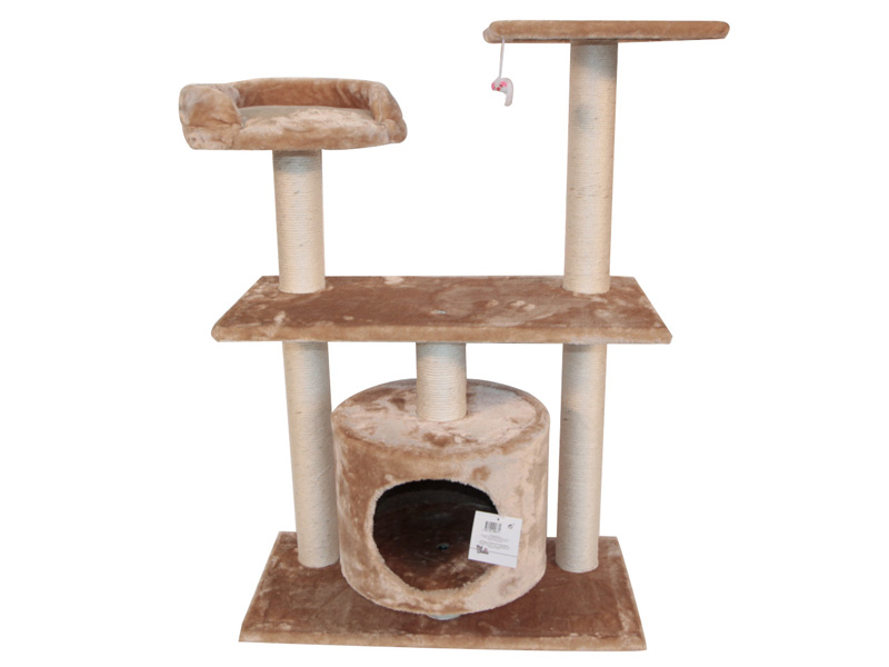 Когтеточка Pet Choice 60х30х96cm Beige SBE1303
