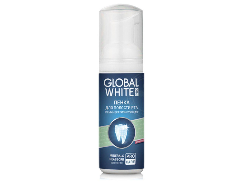 Пенка укрепляющая Global White Total Pro 50ml 4605370005264