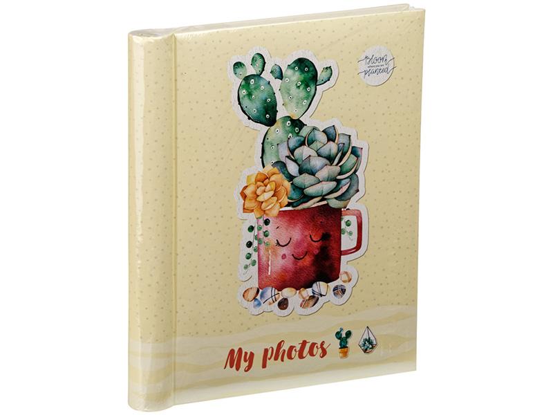 Фотоальбом ArtSpace Cute Succulent 20 листов 23x28cm PA_22181