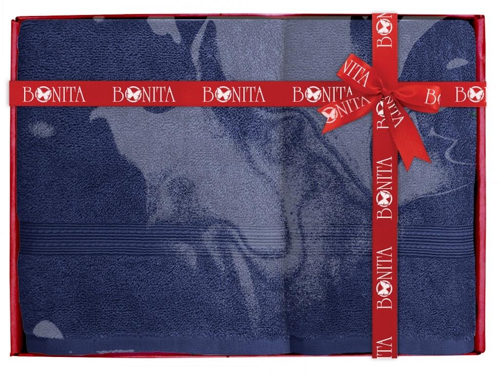 Полотенце Bonita Classic 2шт Dark Blue 21010118685