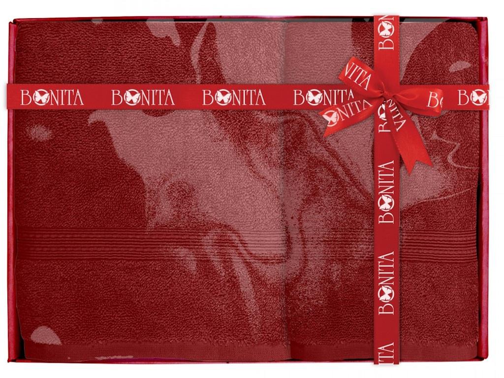 Полотенце Bonita Classic 2шт Burgundy 21010118681