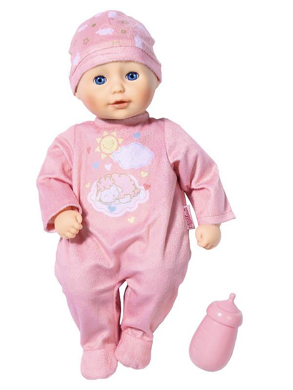 Кукла Zapf Creation My First Baby Annabell с бутылочкой 701-836