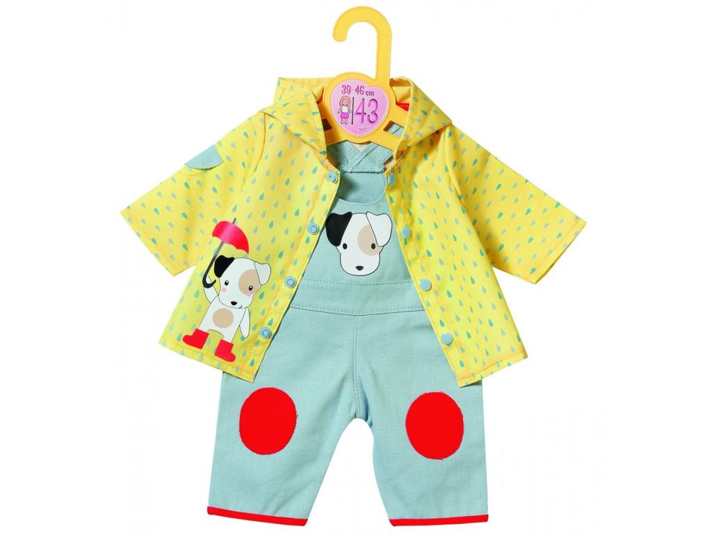 Одежда для куклы Zapf Creation Комбинезон и курточка от дождя 39-46cm 870-525