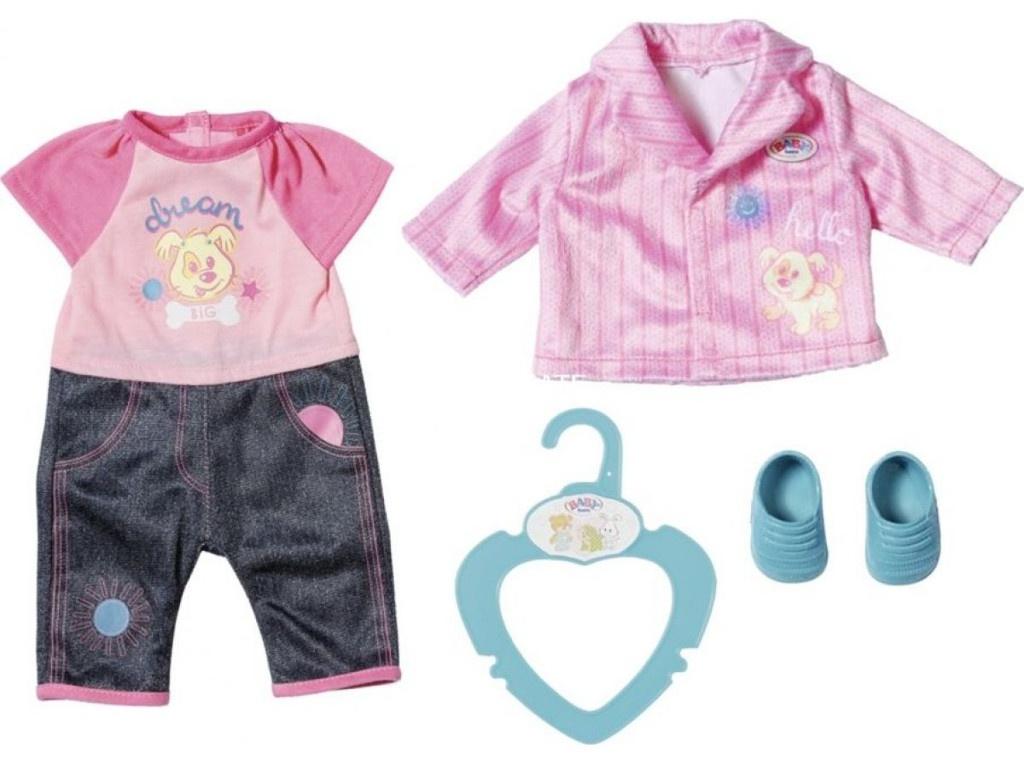 Одежда для куклы Zapf Creation My Little Baby Born Одежда для детского сада 827-369
