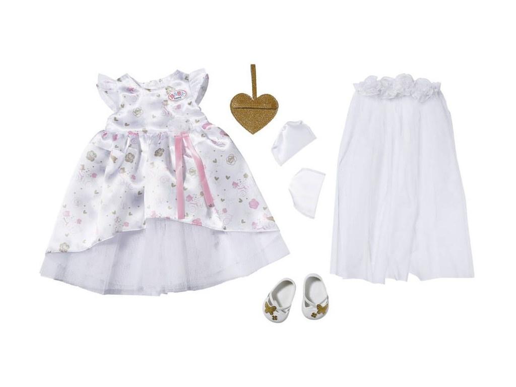 Одежда для куклы Zapf Creation Baby Born Одежда для невесты Делюкс 827-161