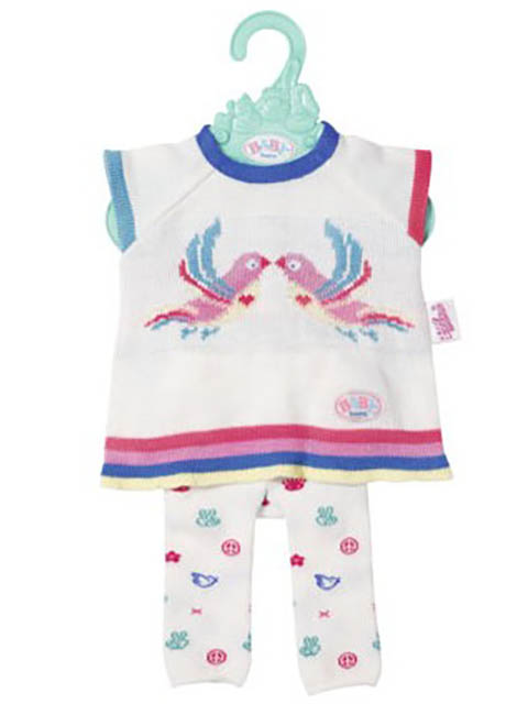 Одежда для куклы Zapf Creation Baby Born Трикотажный костюмчик 826-966