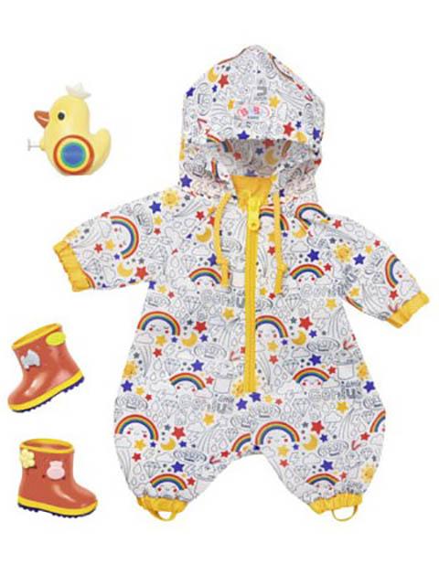 Одежда для куклы Zapf Creation Baby Born Одежда Осенний комбинезон с сапогами Делюкс 826-935