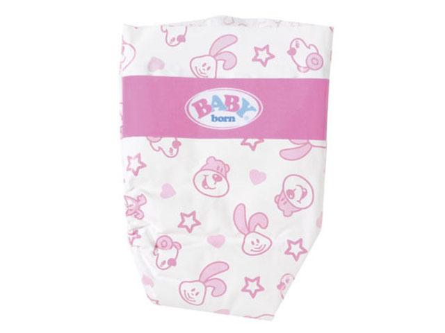 Одежда для куклы Zapf Creation Baby Born Памперсы 5шт 826-508
