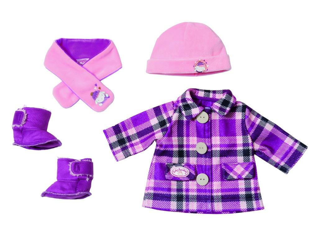 Одежда для куклы Zapf Creation Baby Annabell Одежда Модная зима 702-864