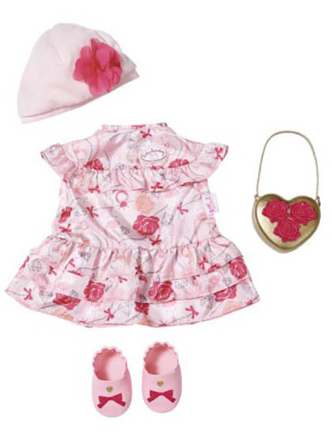 Одежда для куклы Zapf Creation Baby Annabell Одежда Цветочная коллекция Делюкс 702-031