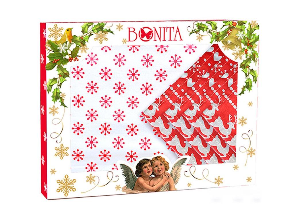 Подарочный столовый набор Bonita Новогоднее чудо 11010118017