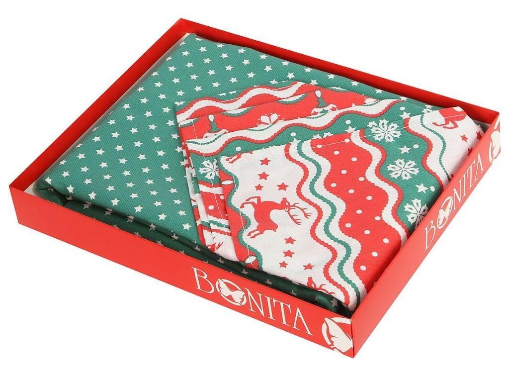 Подарочный столовый набор Bonita Новогодний базар 11010817526
