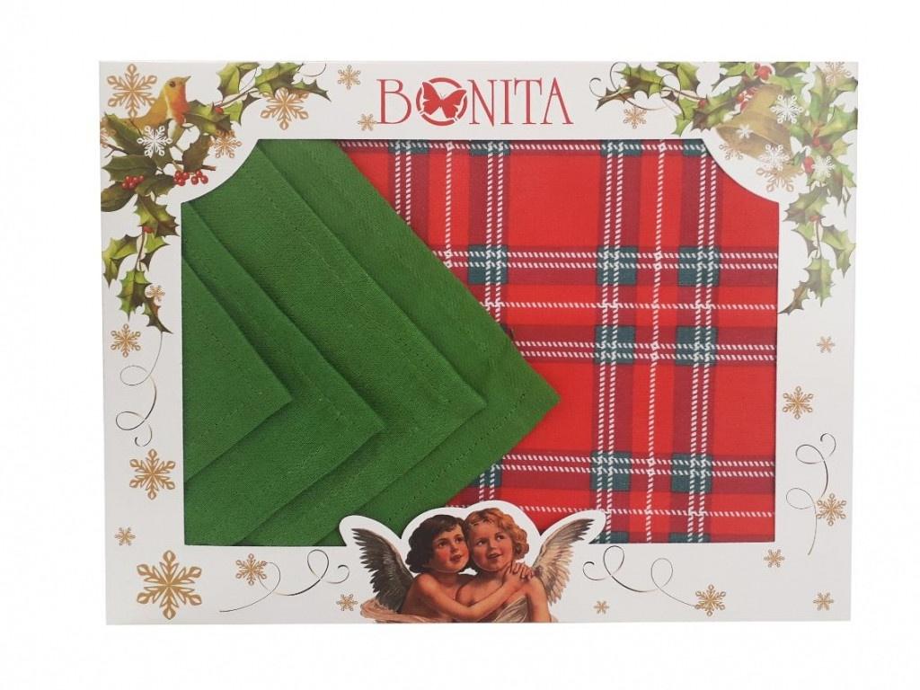 Подарочный столовый набор Bonita Рождественская звезда 11010818984
