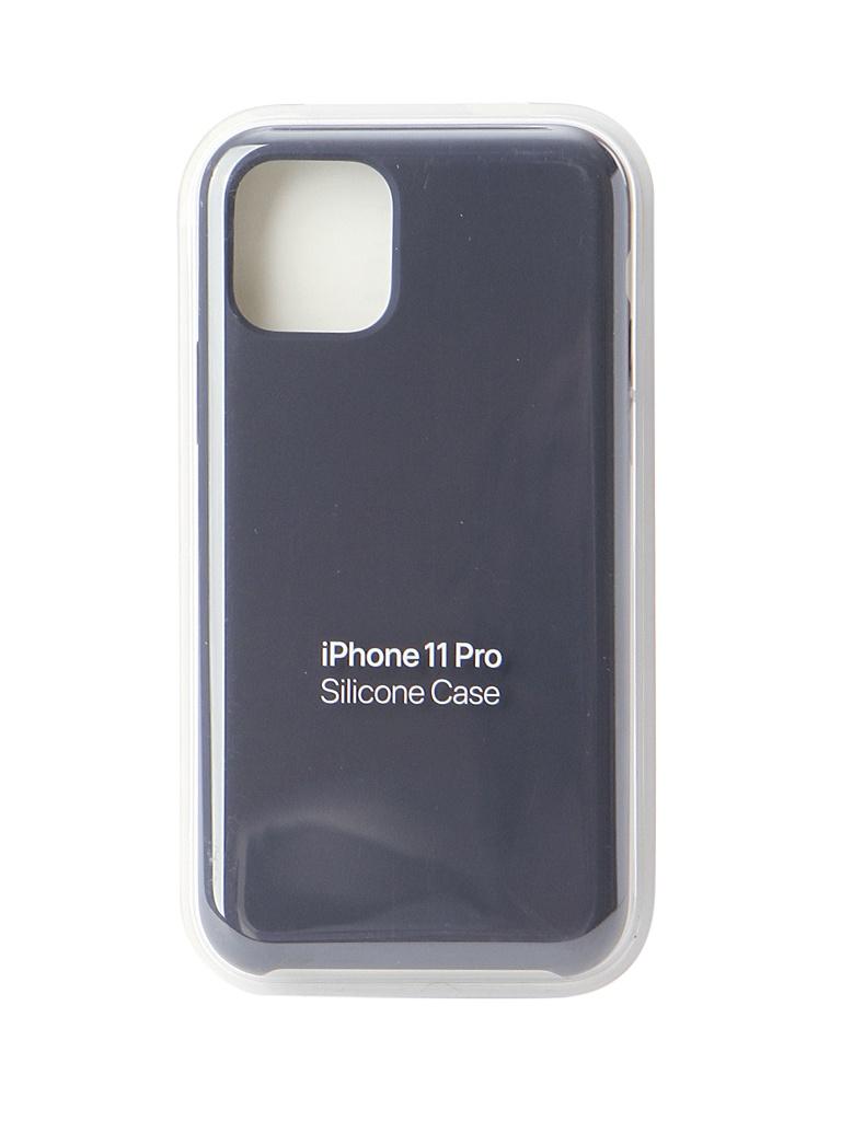 Аксессуар Чехол для APPLE iPhone 11 Pro Silicone Case Midnight Blue MWYJ2ZM/A